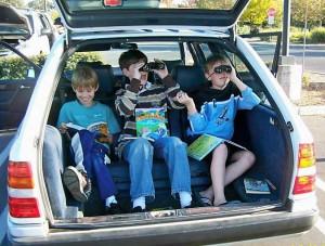 I Spy -- Carschooling!
